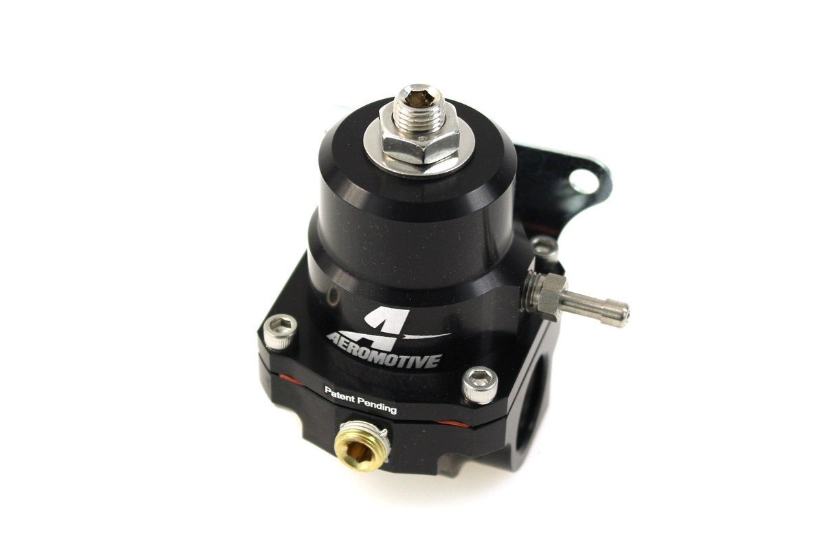 Regulator ciśnienia paliwa Aeromotive II GEN 1000HP ORB-06 Black - GRUBYGARAGE - Sklep Tuningowy